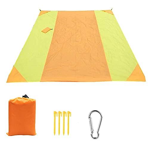 Wawogic 3 M * 2,8 M Alfombrilla de Picnic portátil para Exteriores Manta de Playa Impermeable Colchoneta de Suelo para Acampar Colchón Manta de Picnic para Acampar al Aire Libre
