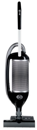 SEBO 9807AM Felix 1 Premium Onyx Upright Vacuum with Parquet, Black/Silver - Corded