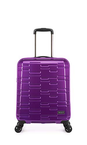 Antler Prism NX, Durable & Ultra Lightweight Hard Shell Suitcase - Colour: Mid Purple, Size: Cabin