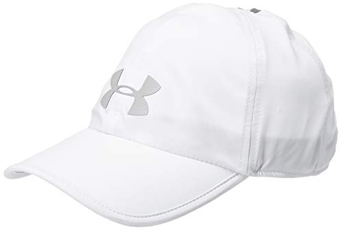 Under Armour Adult Run Shadow Cap , Halo Gray (14)/Silver Reflective , One Size Fits All