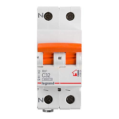Legrand, Interruptor Diferencial, Protector de sobrecargas, 32A