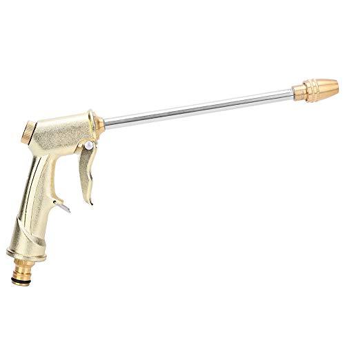 Pistola rociadora de alta presión, boquilla para manguera de jardín, boquilla de agua a presión para lavado de autos, pistola de agua para limpieza, rociador con empuñadura de pistola para regar plant