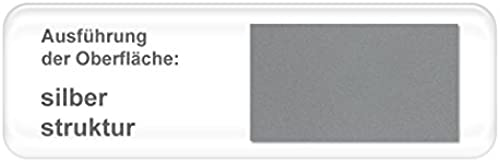 expendio hochwertiges Metallbett Bente komplett, Varianten, Bett + Lattenrost + Matratze, Jugendbett Singelbett Ehebett, Liegefl e 90 x 200cm  , Farben Silber Struktur