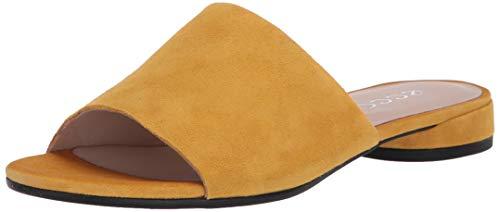 Ecco Damen WFLATSANDALII Pantoffeln, Gelb (Merigold 5366), 38 EU