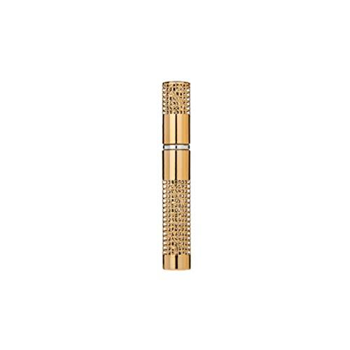 Minkissy 5 Ml Vide Atomiseur Bouteille Huile Essentielle Cosmétique Vaporisateur pour Femmes Dame Dames Remplissage Parfum Maquillage Bourse de Voyage (Or)
