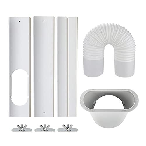 CXWHYPD 5,9 pollice piatto piatto di scarico del tubo flessibile del tubo...