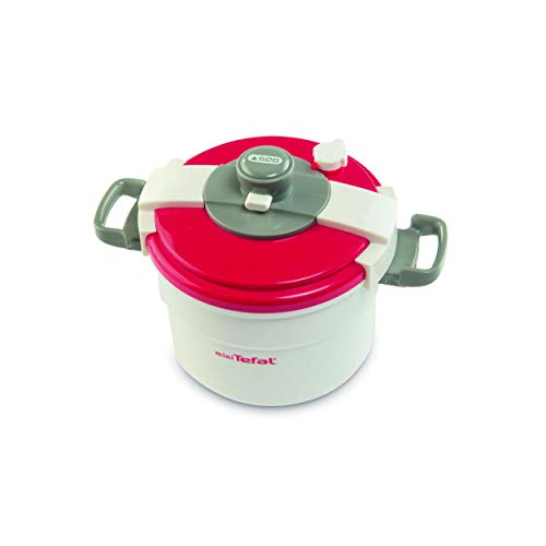 Smoby Tefal Mini Pressure Cooker - Juguetes de rol para niños (3 Año(s), Femenino, Gris, Rojo,...