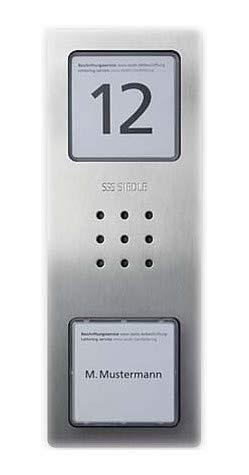 Siedle&Söhne Audio-Türstation CA 850-1 E Siedle Compact In-Home-Bus Türstation für Türkommunikation 4056138008841