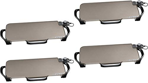 Find Discount Presto 07062 Ceramic 22-inch Electric Griddle with removable handles, One Size, Black ...