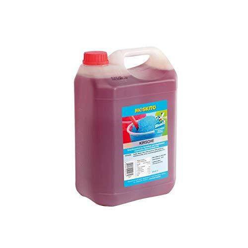 Sirup Slush Konzentrat Slush Ice / Slush AZO FREI Eis Kirsche 5 Liter Ergibt 30 Liter Slush