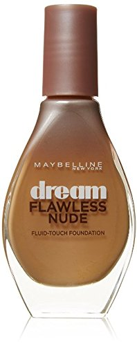 2 x Maybelline New York Dream Flawless Nude Foundation 20ml Sealed - 021 Nude