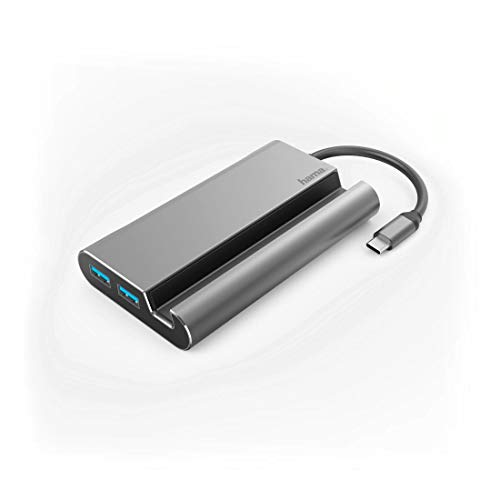 Hama USB-C 7 in 1 Dockingstation 3X USB 3.1 HDMI, VGA, LAN, USB- C (PD)