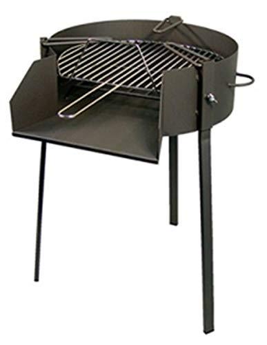 Solsun 43751 – Barbecue Levante 50, 75 x 65 x 50 cm, Couleur Noir