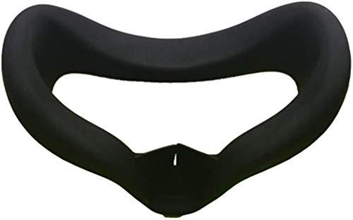 Oculus quest アイマスク フェイスマスク シリコン 光漏れを軽減 汚れ防止 防汗カバー フェイスカバー 専用 アクセサリー (ブラック)