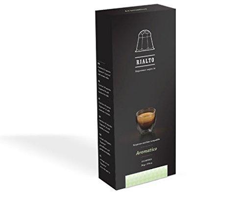 10Capsule/mondosis di caffè Expresso compatibili con macchine da caffè Nespresso
