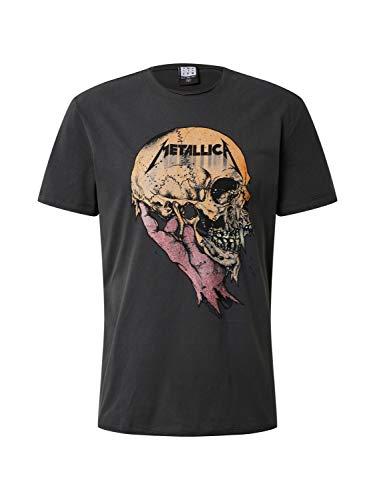 Amplified Herren Shirt Metallica SAD BUT True dunkelgrau M