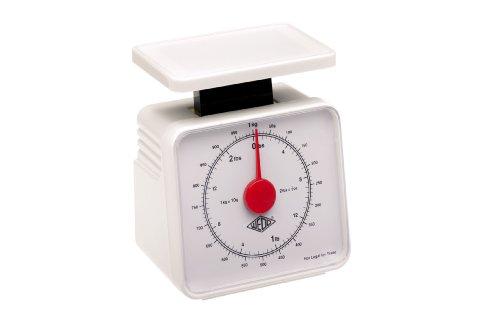 Wedo 249101000 Veerweegschaal mobiele telefoon (1 kg / 10 g, met weegschaal) wit