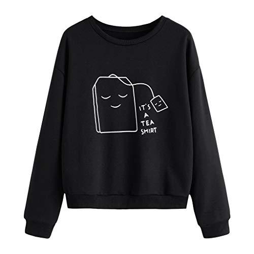 HEVÜY Damen Sweatshirt Gestreift Rollkragen Pullover Loose Tops Damen Kapuzenpullover Graphic Sport Hoodie