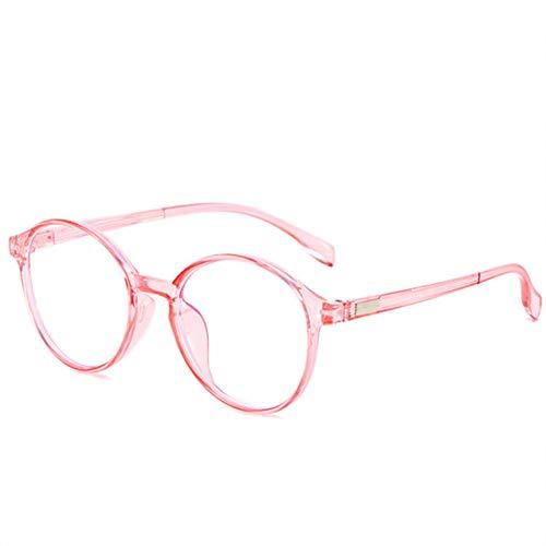 DJDLNK Ronde anti-blauw licht brilmontuur vrouwen bril mannen computer bril vintage helder lens bril