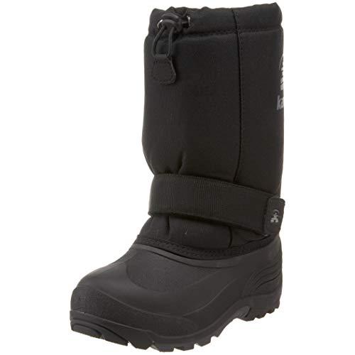 Kamik Rocket Cold Weather Boot (Toddler/Little Kid/Big Kid),Black,13 M US Little Kid