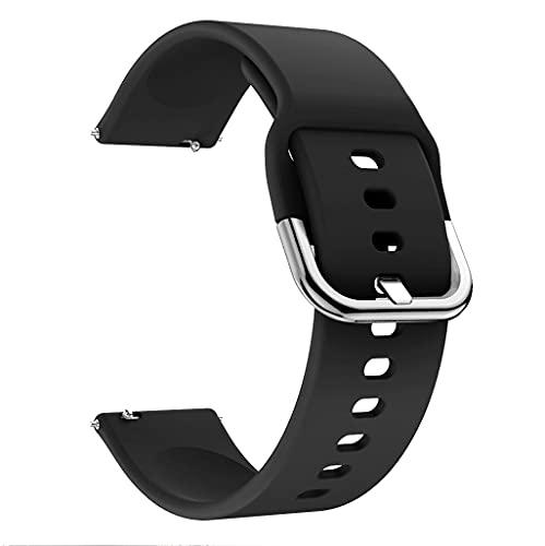 MIORIO Correa de Silicona Compatible con Huawei Watch 3 Reloj Inteligente Duradero Resistente al Agua Bandas de Moda Pulsera Deportiva de Repuesto