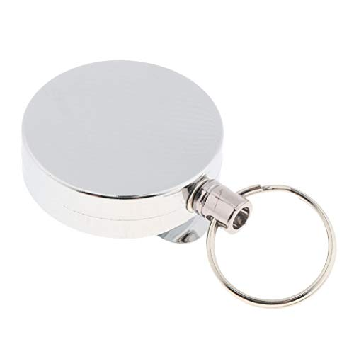 lahomia Pinza para Cinturón con Anillo de Retroceso de Acero 50cm