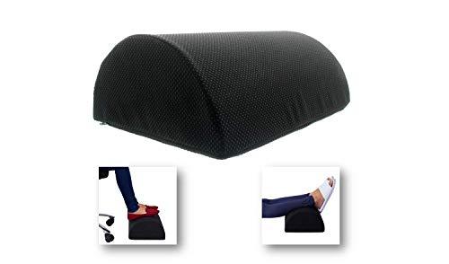 Siava Fußstütze/Fußablage/Fußkissen mit Antirutsch-Beschichtung, ergonomisch, für Büro und Zuhause