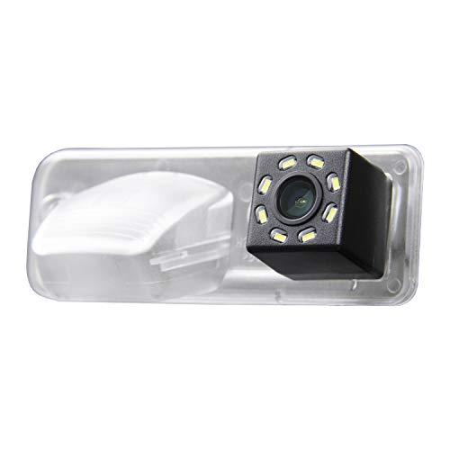 Misayaee Caméra de Recul Voiture en Couleur Kit Caméra vue arrière de voiture Imperméable Vision Nocturne pour VW T4 Multivan Transporter Caravelle Business