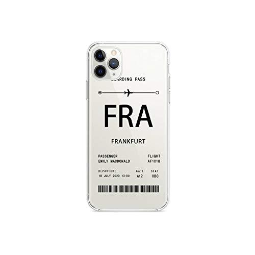Funda para iPhone 12 Pro Max Mini 11 Pro XS MAX 8 7 6 6S Plus X 5S SE 2020 XR cover-a6-iphone12pro iPhone12
