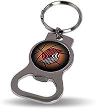 NBA Trail Blazers Bottle Opener Keytag Sports Fan Keychains, Multicolor, One Size
