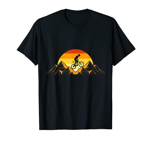 Descenso En Bicicleta De Montaña - Bicicleta De Montaña MTB Camiseta