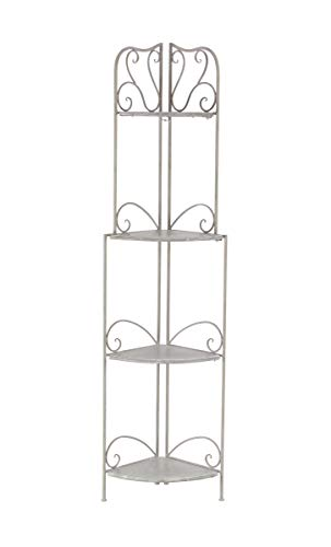 Deco 79 Shelves, Large, Gray