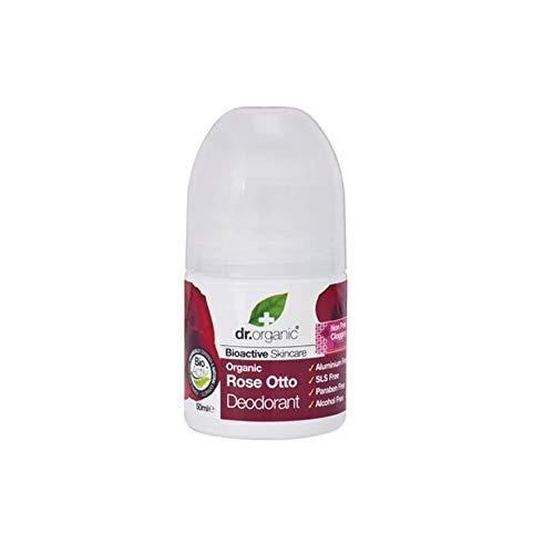 Dr. Organic Bio-deodorant met gelée koningsblauw, 50 ml. roze. 50 ml