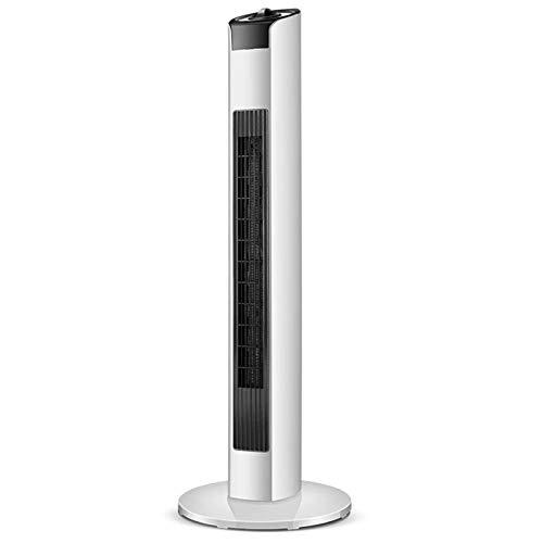 SYLTL Cerámico Caliente Ventilador, Calefactor Eléctrico Cerámico PTC De Torre, 2000W. Uso En Posición Horizontal Y Vertical, Pantalla LED, Oscilante, Temporizador 24 Horas. Diseño Exclusivo
