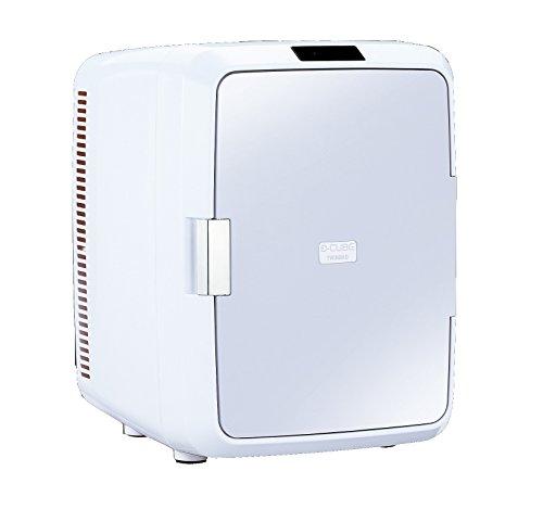 TWINBIRD2電源式ポータブル電子適温ボックスD-CUBEXグレーHR-DB08GY