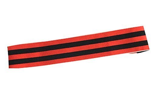 Rose rouge et noir Top Bandeaux Sport Fashion Bandeau Band Hair