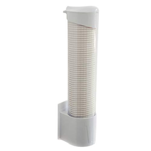 Wodeni Anti-stof kartonnen beker Dispenser plastic automatische remover bekerhouder One Touching Button container