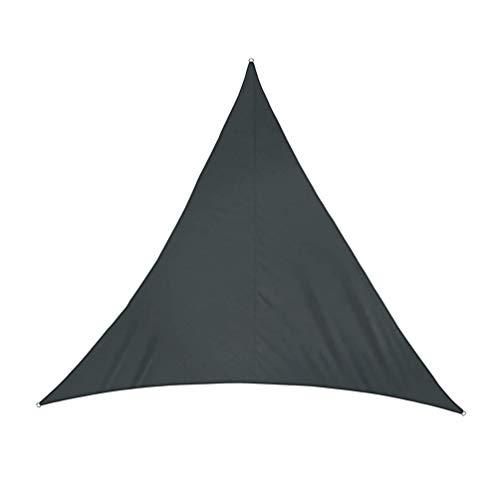 GladiolusA Sonnensegel Dreieck Atmungsaktiv Sonnenschutz Windschutz Tarp mit UV Schutz für Garten Terrasse Camping Als Bild15 3 * 3 * 3M