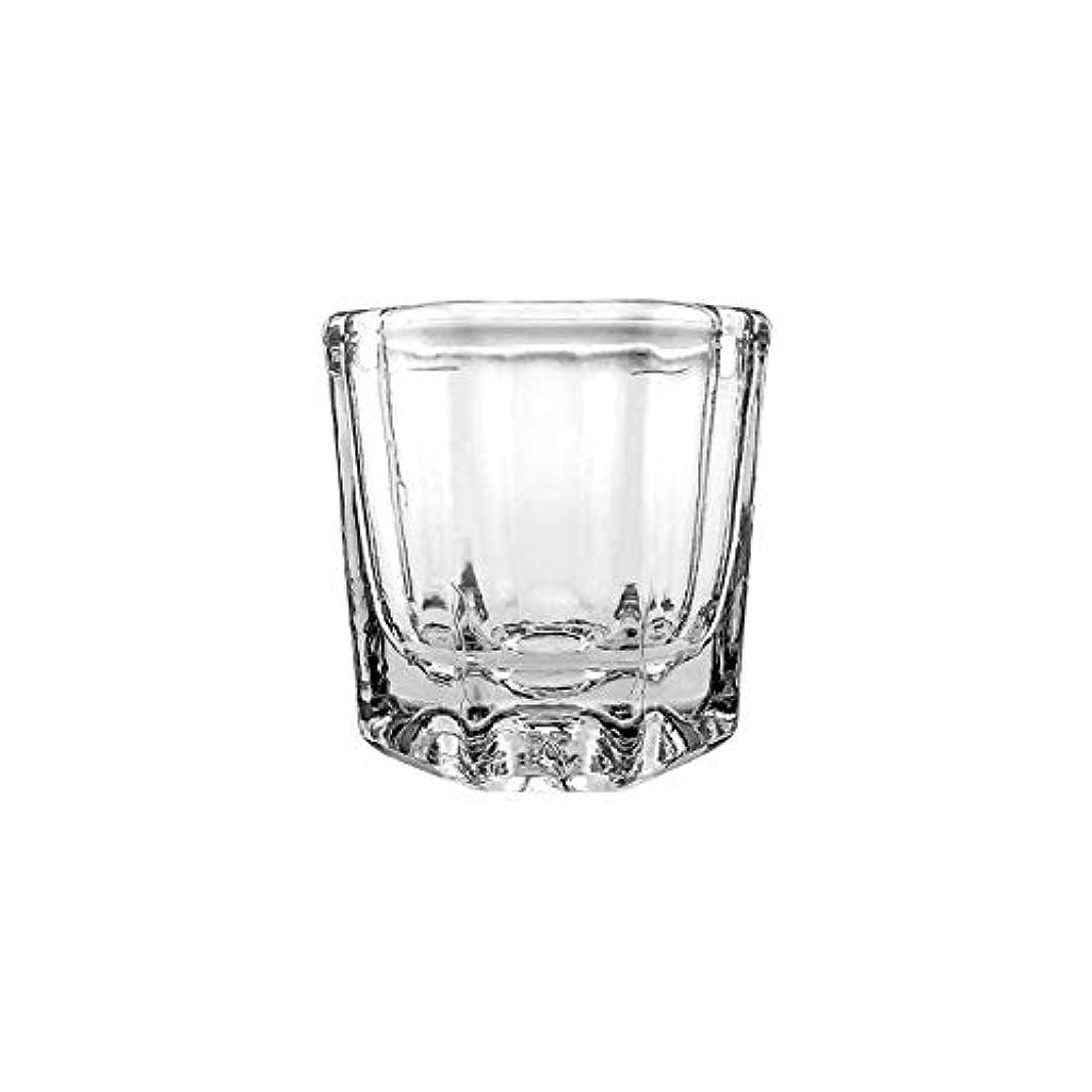 補償中傷受動的LALONA ダッペンディッシュ (ガラス製) (耐溶剤) ジェルネイル スカルプチュア ブラシの洗浄に