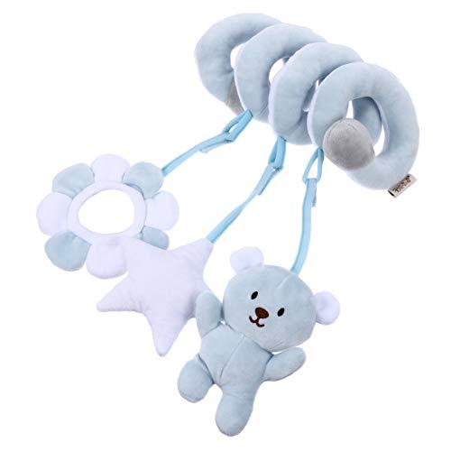 NUOBESTY Kid Baby Bed Stroller Toy Crib Cot Pram Hanging Rattles Spiral...