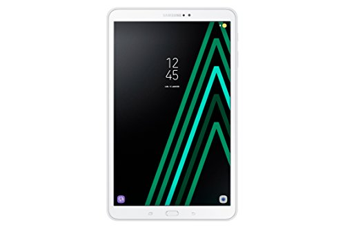 Samsung Galaxy SM-T580NZWEXEF Tab A Tablette Tactile 10' Blanc (32 Go, 2 Go de RAM, Android 6.0, Wifi, Bluetooth)
