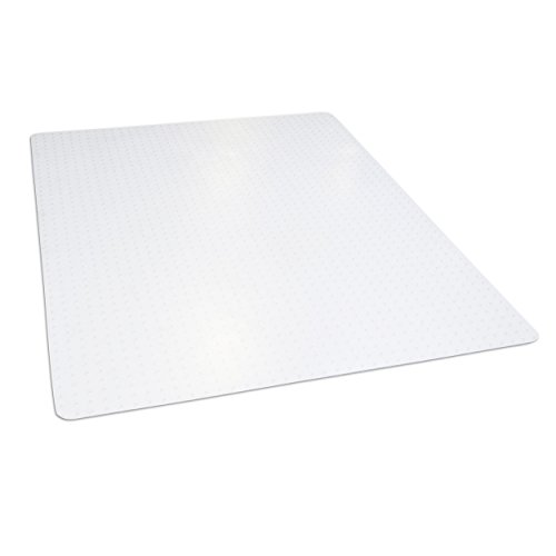"Dimex 46""x 60"" Clear Rectangle Office Chair Mat For Low And Medium Pile Carpet, Made In The USA, BPA And Phthalate Free, C532001J"