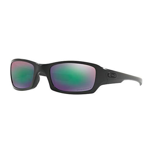 Oakley SI Fives Squared Prizm Matte Black Frame/Maritime Polarized Lenses