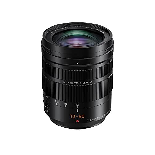 Panasonic Lumix G/Leica H-ES12060 Obiettivo, Nero
