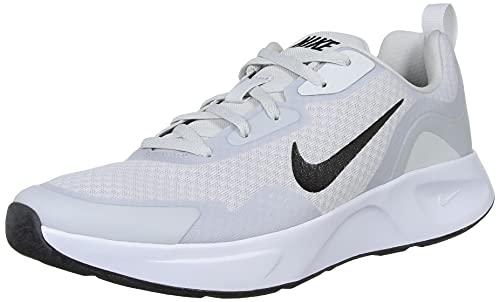 Nike Wearallday, Scarpe da Ginnastica Donna, Photon Dust/Black-White, 41 EU
