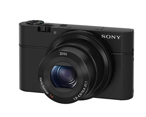 "Sony RX100 20.2 MP Premium Compact Digital Camera w/ 1-inch sensor, 28-100mm ZEISS zoom lens, 3"" LCD (Renewed)"