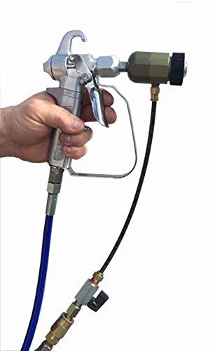 Texture Sprayer Air Atomizer Kit, Gun Not Included, Fits Most airless Guns