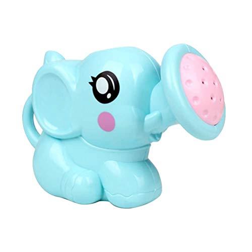LIOOBO Elefant-Bewässerungstopf-Baby scherzt Badespielzeug-Strand-Spielwasser kann Blau