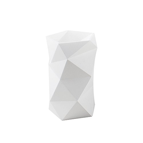 Creative Design Silicone Pen and Pencil Holder (White)
