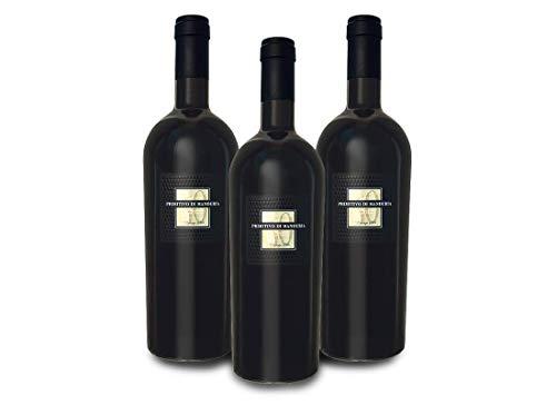 Vorteilspaket Cantine San Marzano Primitivo di Manduria Sessantanni Old Vines DOP (3 x 0,75 l)